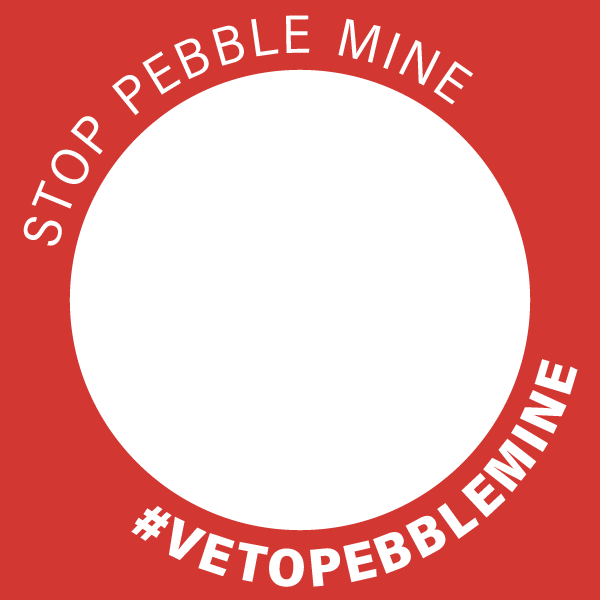 Stop Pebble Mine #VetoPebbleMine facebook profile badge